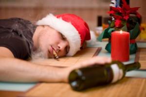 falling asleep during Christmas
