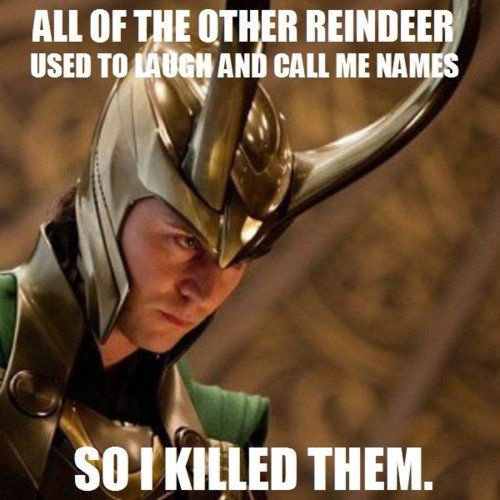 loki killed the raindeer