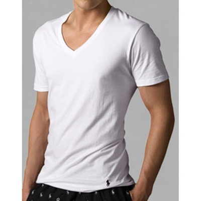RALPH LAUREN Classic V-Neck T-Shirts 3-Pack