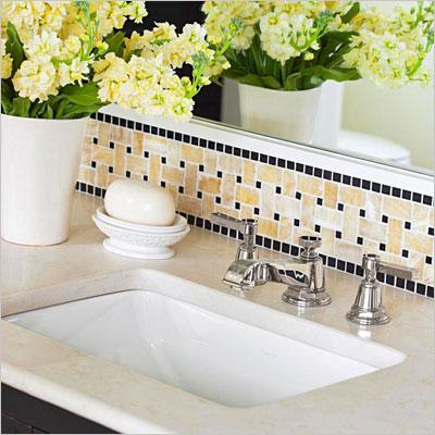 Bathroom Tile Row