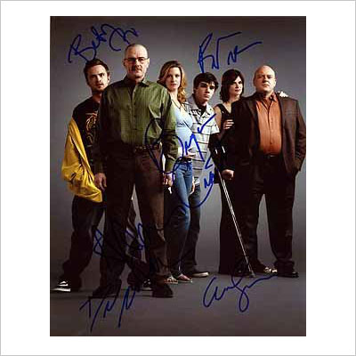 Breaking Bad Cast Photo Signed In-Person