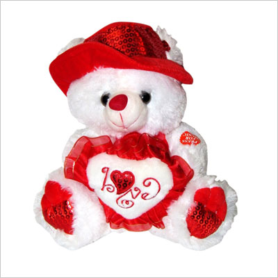 Teddy Bear with Red Hat