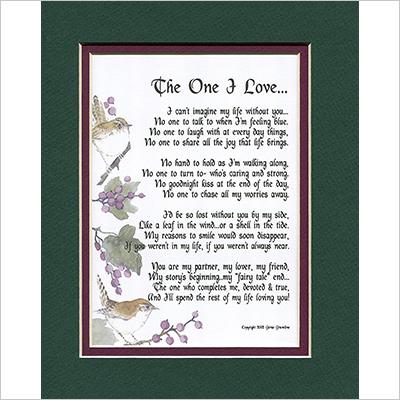 Framed Love Poem