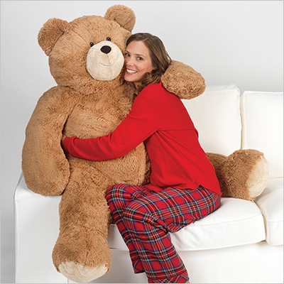 4 feet tall Vermont giant teddy bear