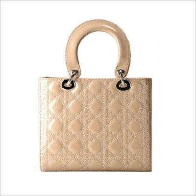 Diamond Texture Lattice Lady Handbags