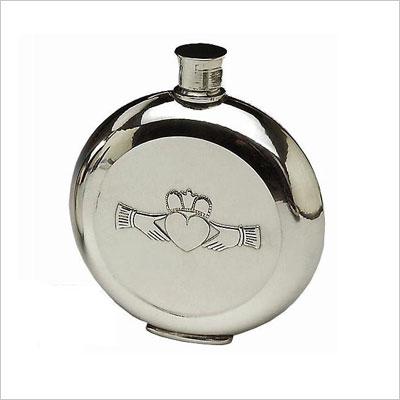 Mullingar Pewter Pocket Whiskey Flask