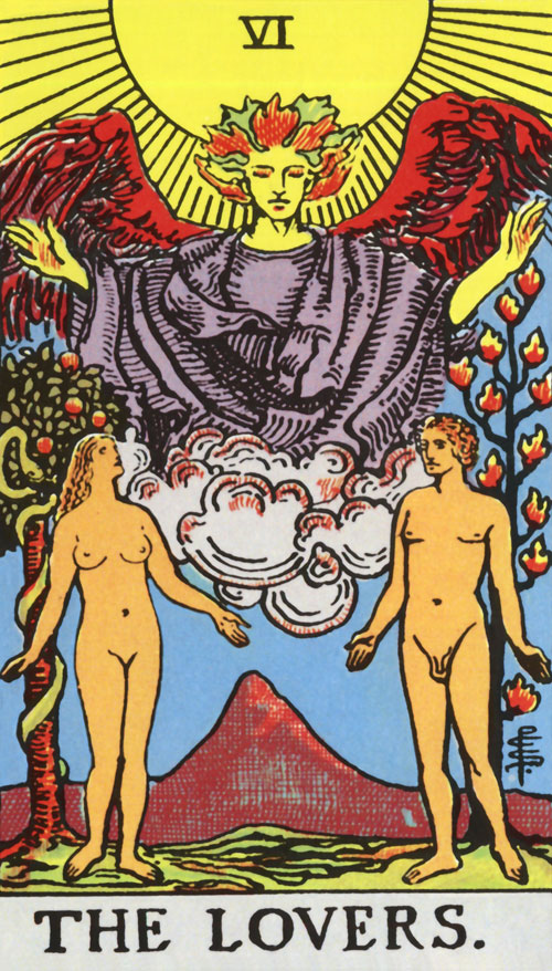 the-lovers tarot cards