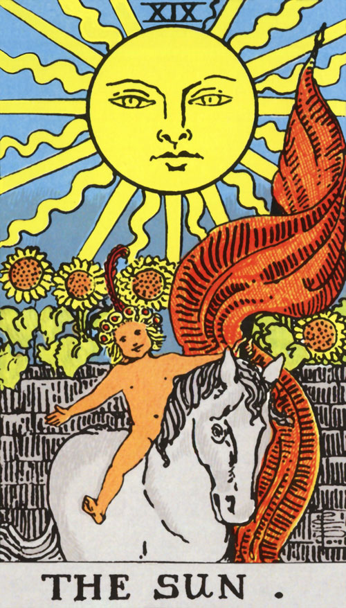 the-sun tarot cards