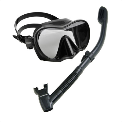 Scuba Diving Snorkeling Freediving Mask Snorkel Set