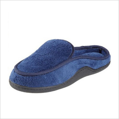 Isotoner Men's Classic Microterry Clog Slipper
