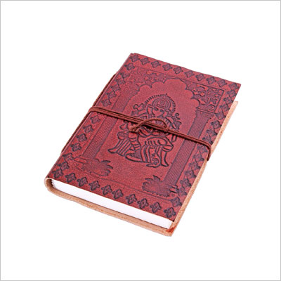 Leather Pocket Diary Personal Journal Travel Notebook