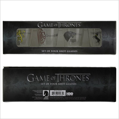 Dark Horse Deluxe Game of Thrones Shot Glass Set