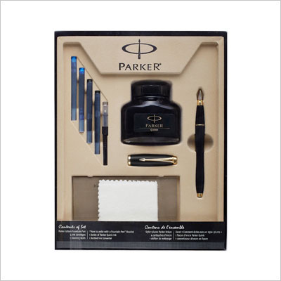 Parker Urban Fountain Pen with 4 Ink Cartridges