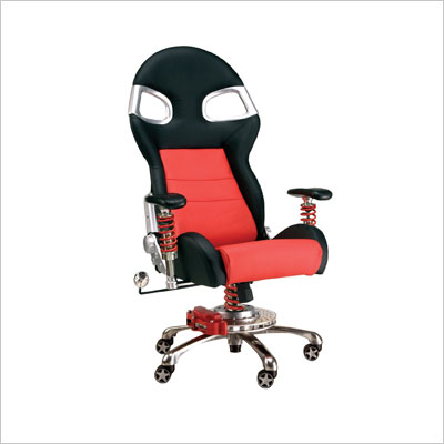 Pitstop Furniture F08000S Silver LXE Office Chair