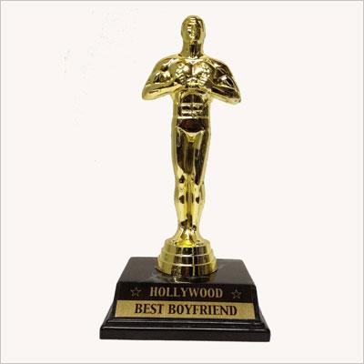 Small Best Boyfriend Victory Trophy Award