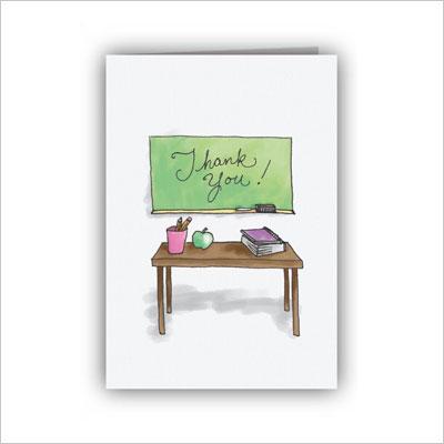 Thank You Teacher Cards