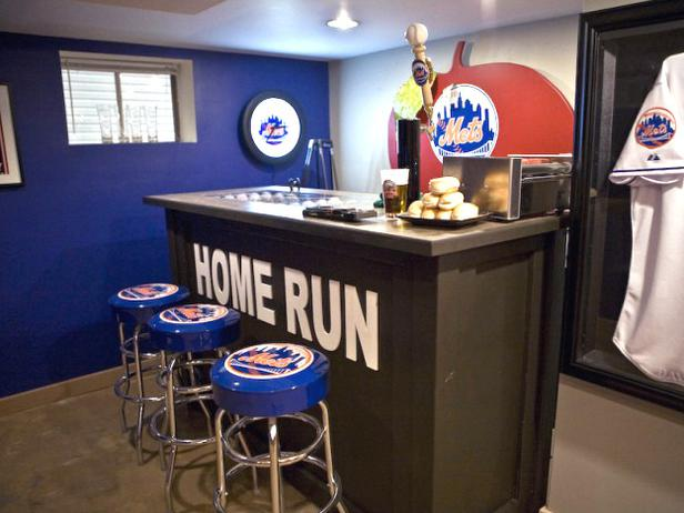 Baseball Themed Bar