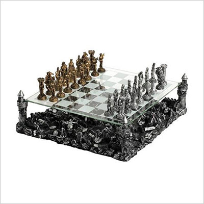 3D Knight Chess Set