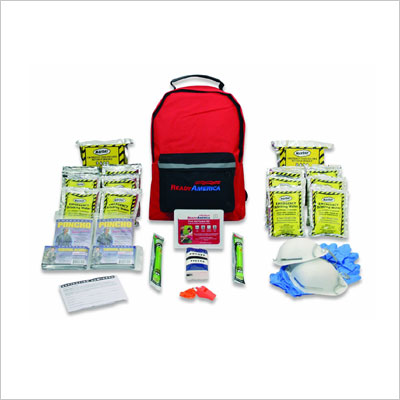 Emergency Kit, 2-Person, 3-Day Backpack