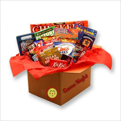 Snacks, Fun and Games Care Package