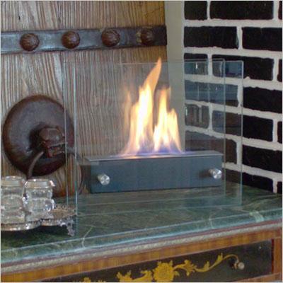Portable Indoor/Outdoor Ethanol Fireplace