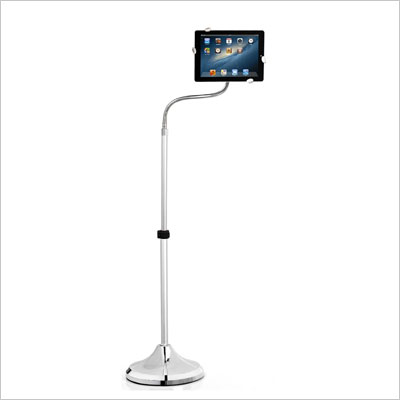 Easy Adjustable Full-Motion Rotatable Floor Stand For iPad