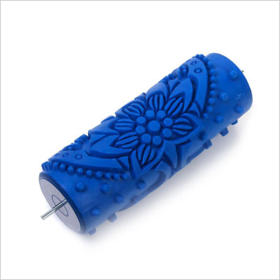 Flower Embossed Painting Roller Wallpaper Tool