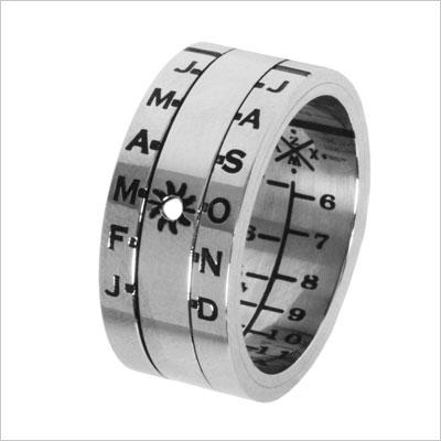 Sundial Ring Silver