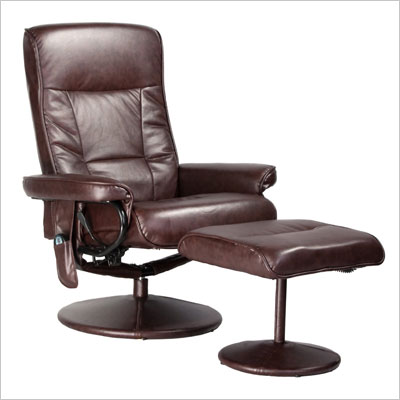 Comfort Products Leisure Recliner Chair with 8-Motor Massage & Heat