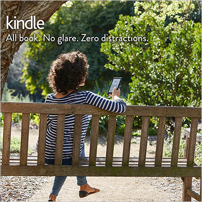 Kindle E-reader with Glare-Free touchscreen display