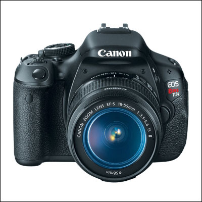 Canon EOS Rebel T3i Digital SLR Camera with EF-S display
