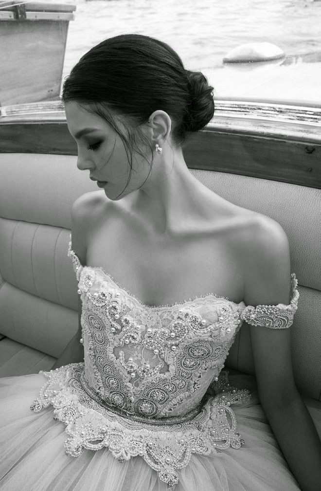 pearl encrusted wedding gown bodice