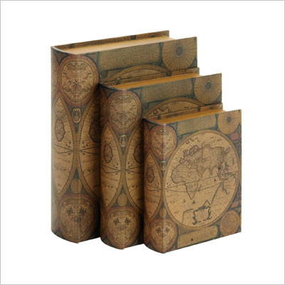 Beautifully Designed Wood Leather Book Box