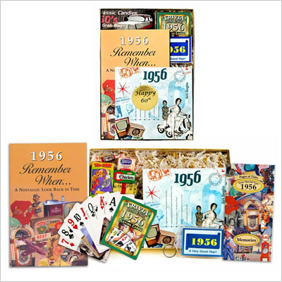 60th Birthday Gift for Men or Women - 60th Anniversary Time Capsule