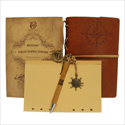 60th Birthday Gift Ideas Horizons Classic Leather Journal