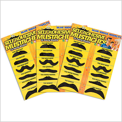 blue ridge novelty fake mustache