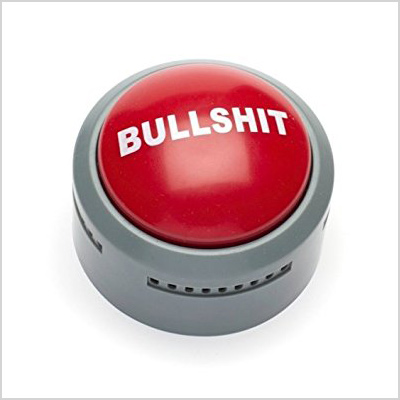 gemmy bullshit button