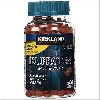 kirkland signature ibuprofen tablets