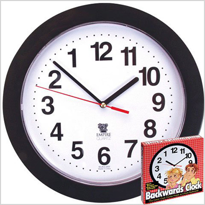 loftus backwards clock