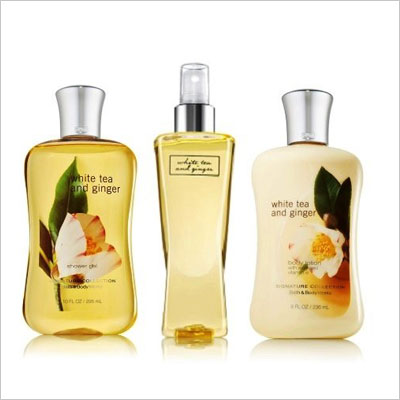 Bath & Body Collection White Tea and Ginger Body