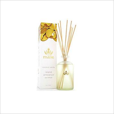 Malie Organics Coconut Vanilla Reed Diffuser