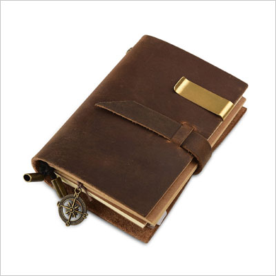 Classic Genuine Leather Notebook