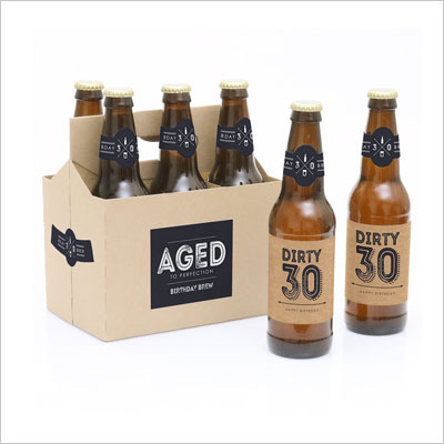 Dirty 30 Beer Set 30th Birthday Gift Ideas
