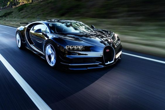 Black Bugatti Chiron