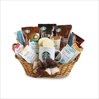 California Delicious Starbucks Daybreak Gourmet Coffee Gift Basket