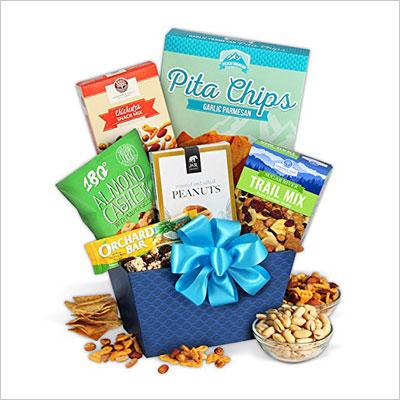 Healthy Treats Gift Basket