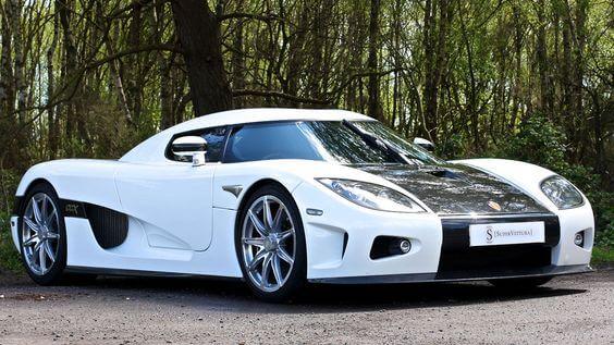 Koenigsegg CCX white