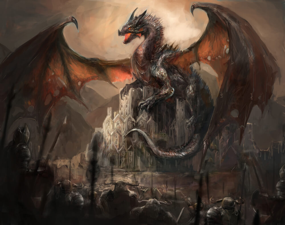 Mythical Creature Dragon