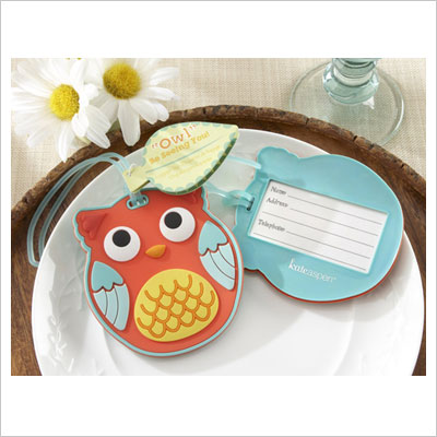 Luggage Tag Owl