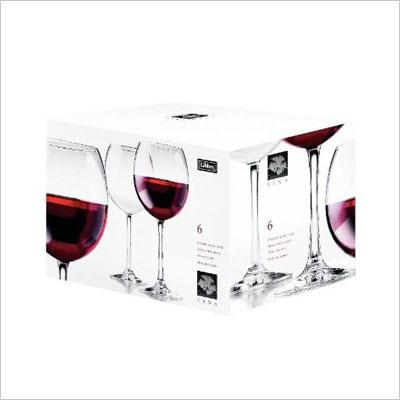 Round Red Wine Goblets
